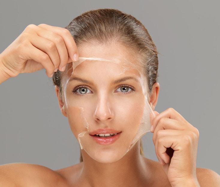 rostro mujer joven peeling clinica graziella moraes
