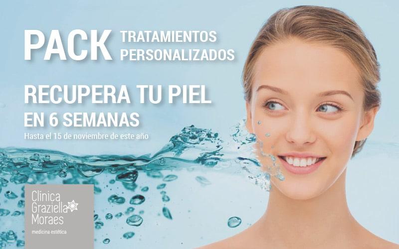 Pack de tratamientos personalizados para recuperar tu piel en seis semanas