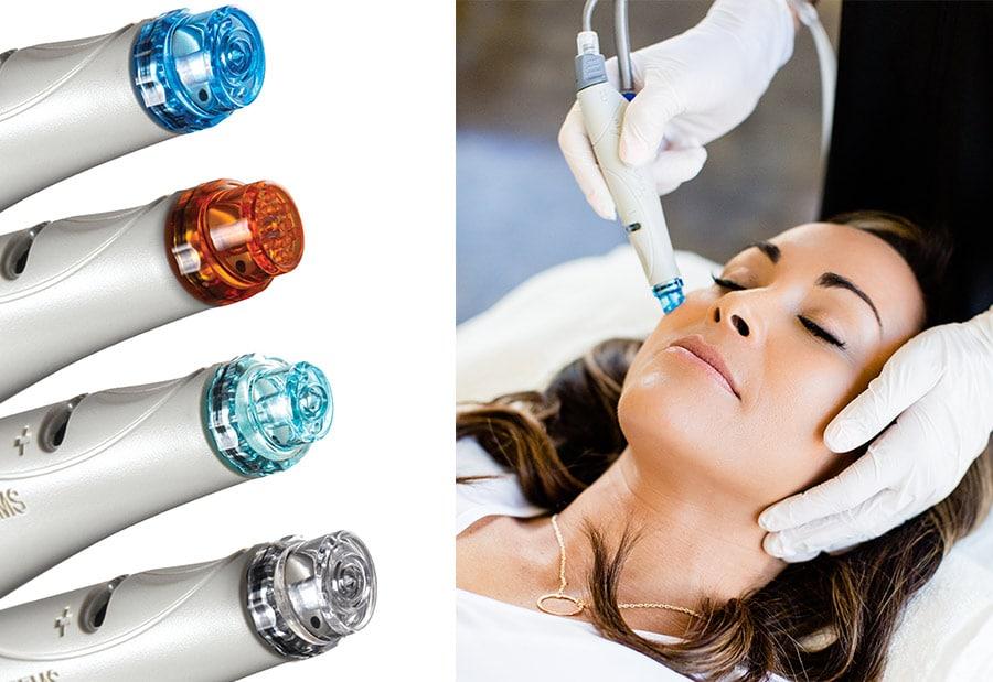 Máquina de tratamiento Hydrafacial y momento de aplicación